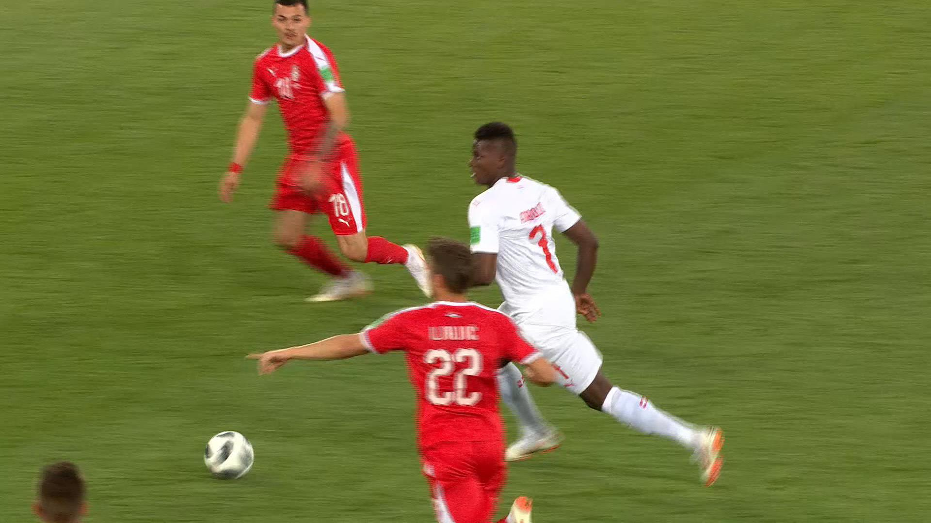 Gruppe E: Serbien - Schweiz 1:2 | FIFA WM 2018 - ZDFmediathek
