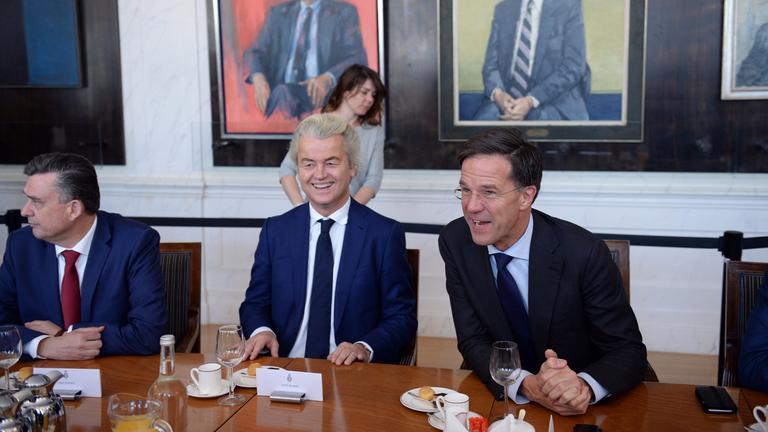 Mark Rutte und Geert Wilders