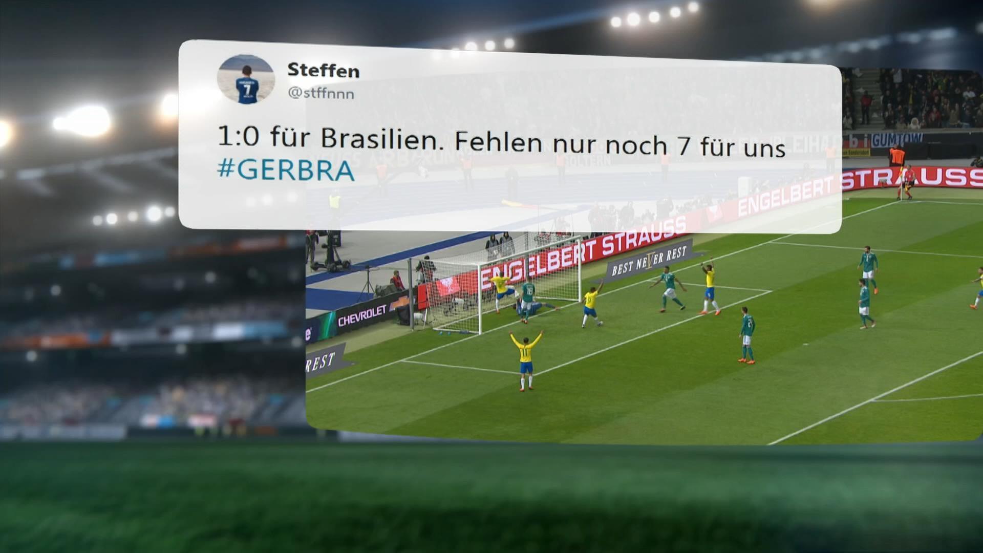 Deutschland Brasilien Livestream Highlights Uvm Zdfmediathek