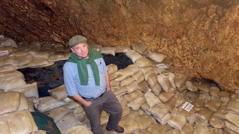 Archäologe Nicholas Conard