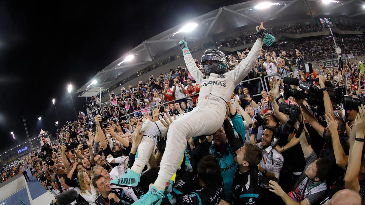 Rosberg Weltmeister