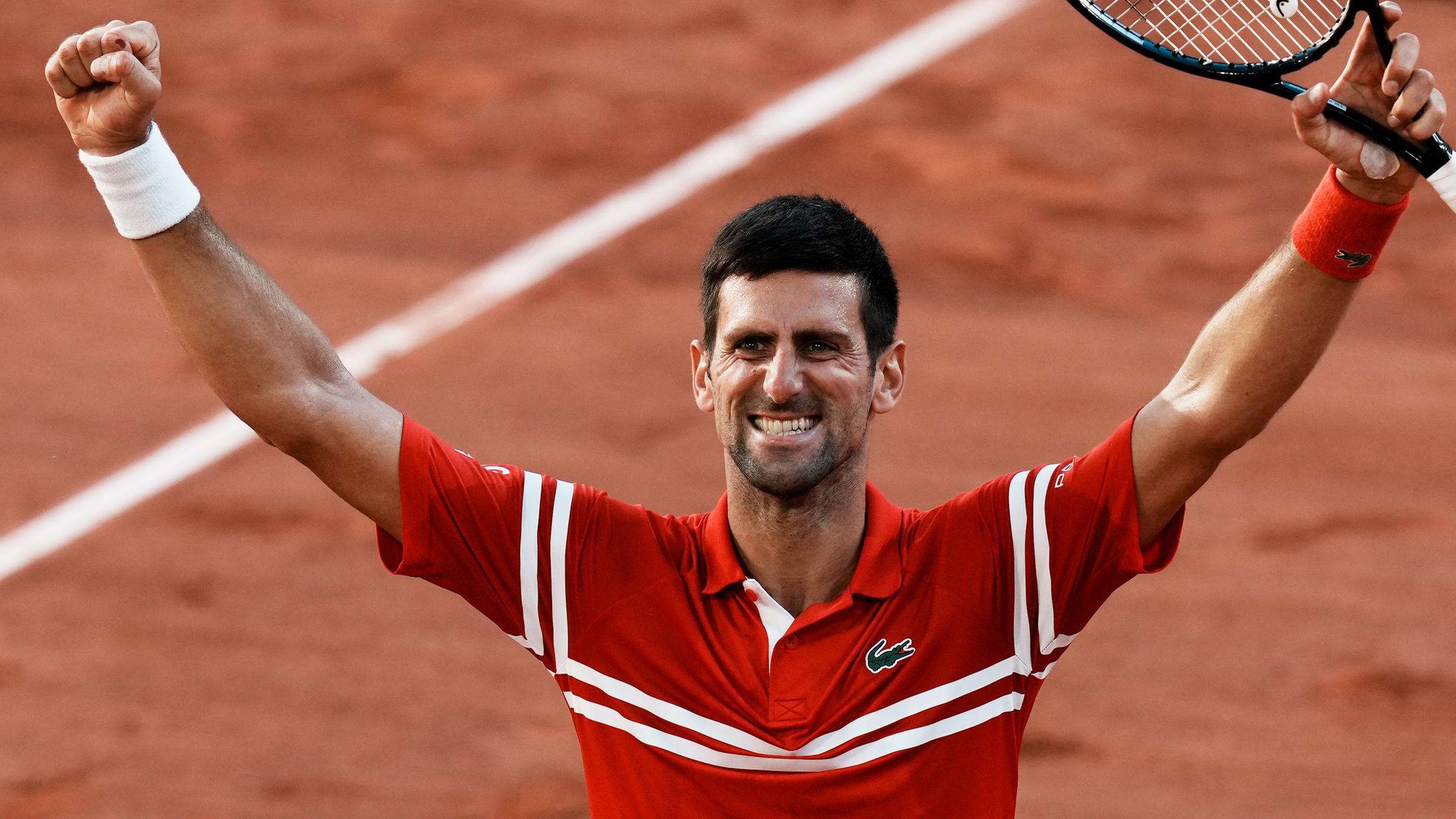 Tennis French Open Djokovic Gewinnt Finale Gegen Tsitsipas Zdfheute