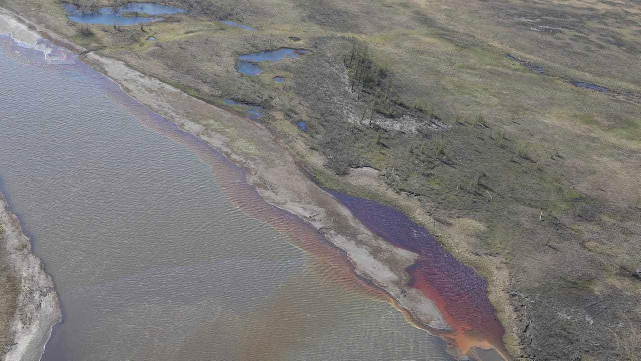 Flüsse In Sibirien