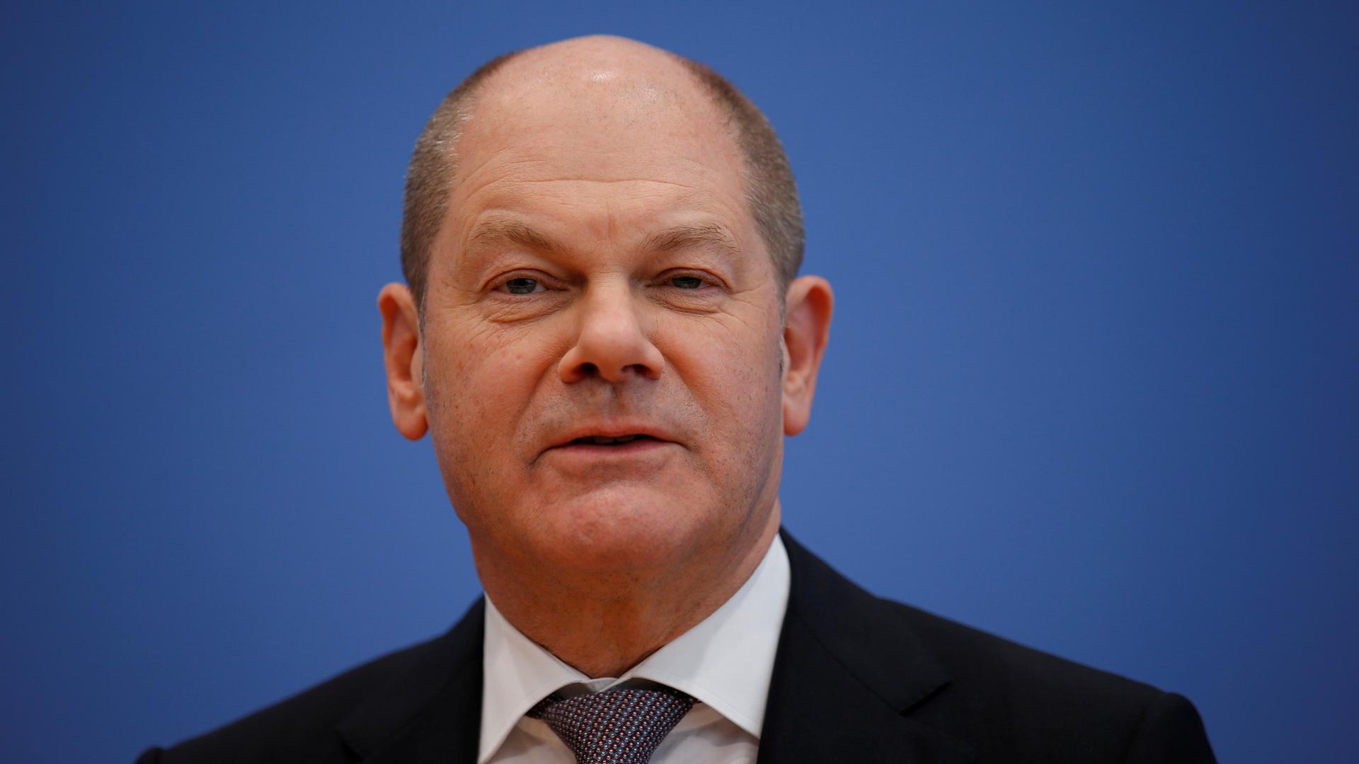olaf scholz bei der pk zur unterzeichnung des koalitionsvertrages am 12032018 in berlin - Wolfgang Schauble Lebenslauf