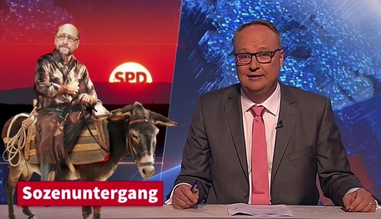 Oliver Welke blickt auf die NRW-Wahl zurück