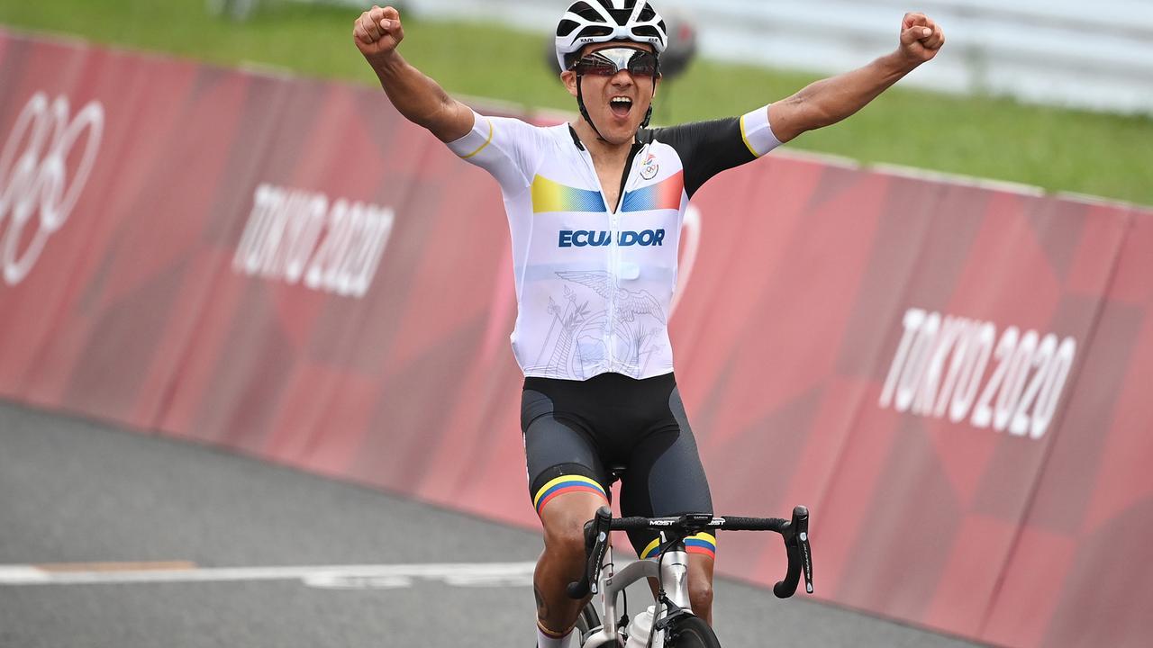 Straßenradrennen: Carapaz gewinnt Gold - Schachmann stark