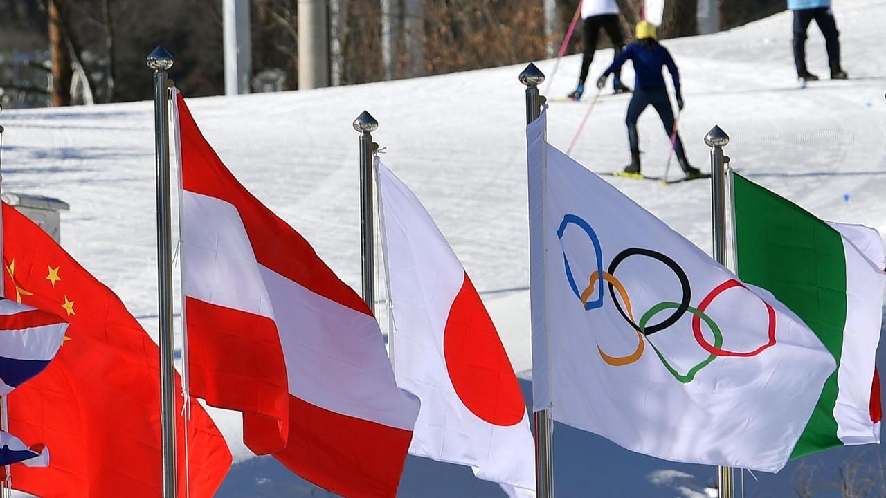 Arbeitsblätter Olympische Winterspiele : Logo olympische winterspiele zdfmediathek