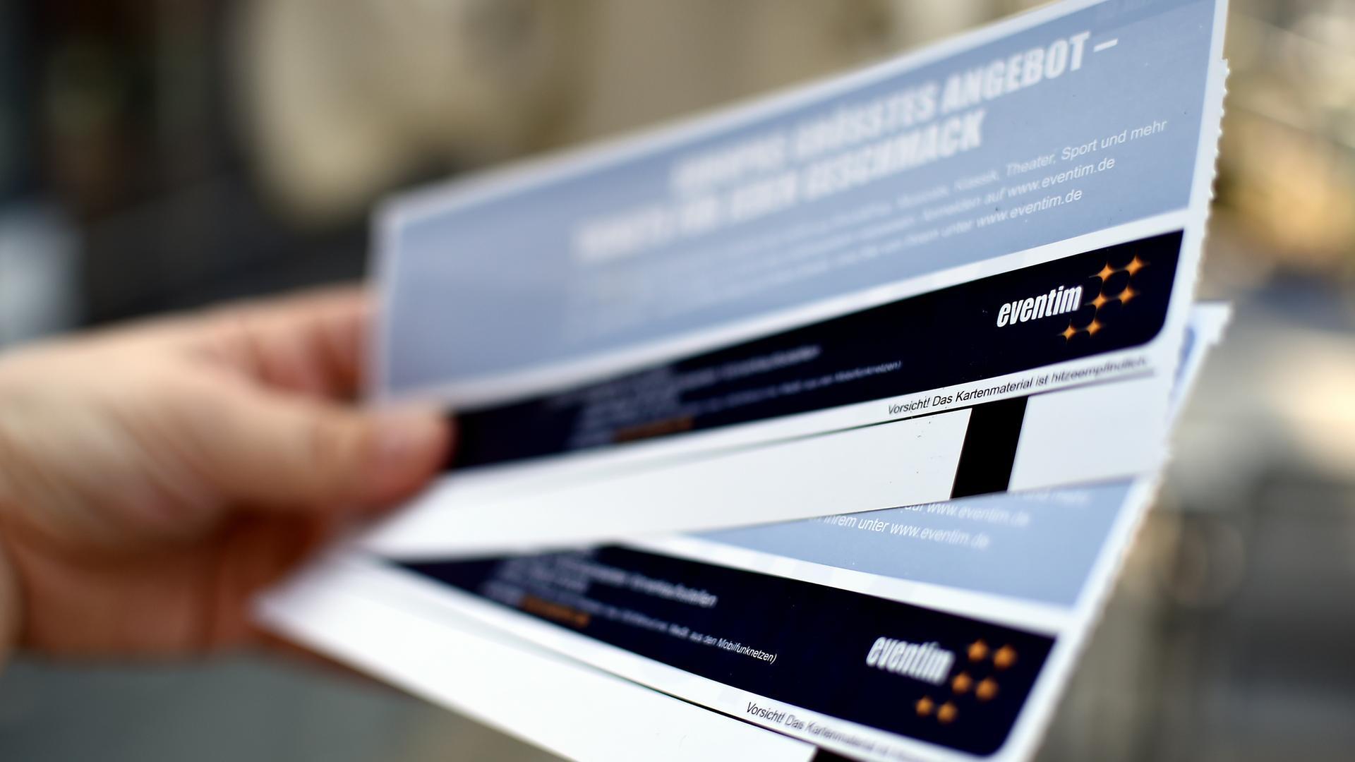 Konzertkarten zum Ausdrucken: BGH verbietet Online Ticket Gebühr