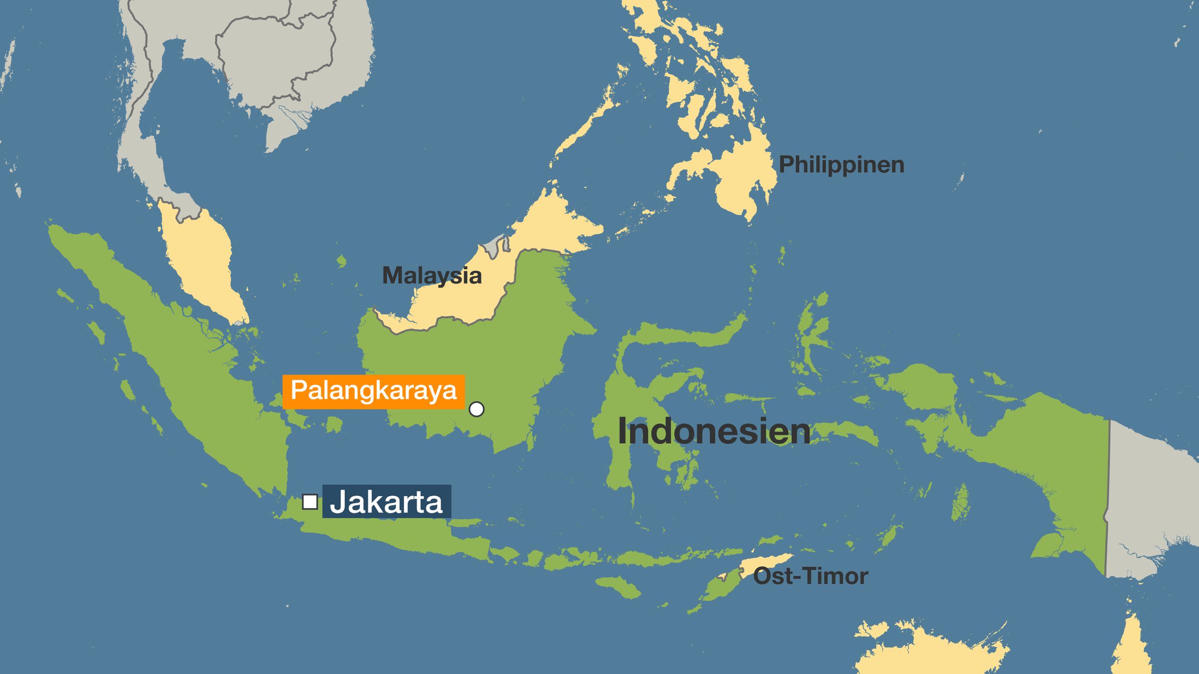 Neue Hauptstadt Palangkaraya Indonesiens Regierung Will Weg Aus Jakarta Zdfheute
