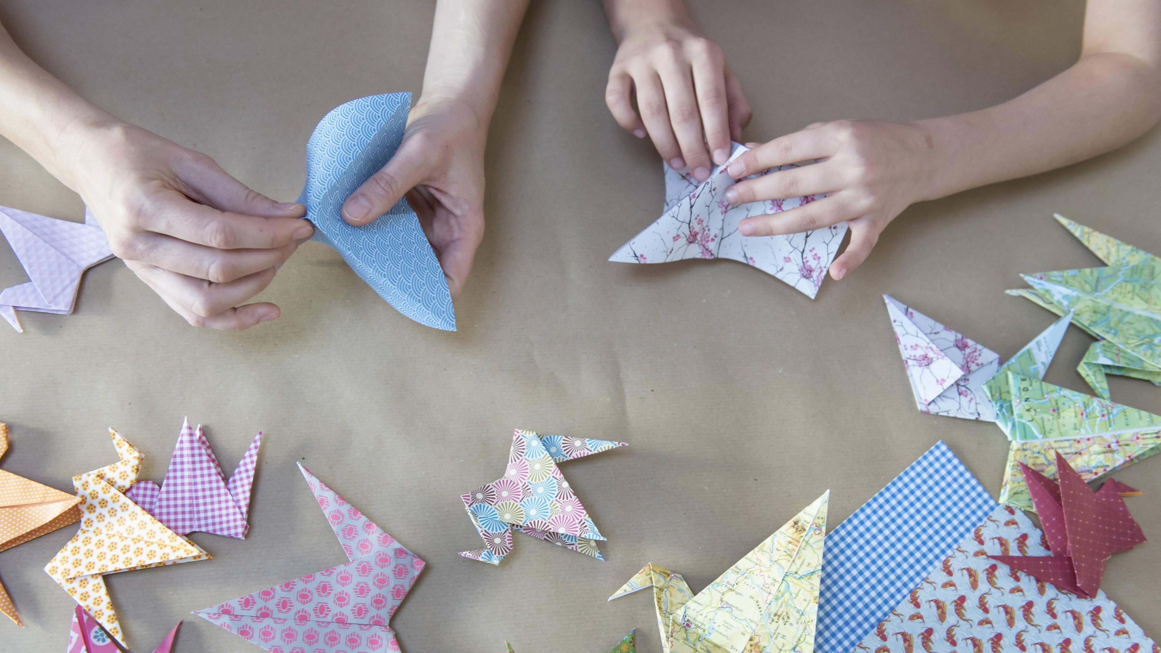 Origami: Vogel Anleitungen zum Nachbasteln - [GEOLINO] | 2160x3840