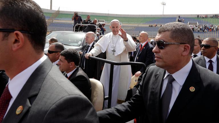 papst in aegypten