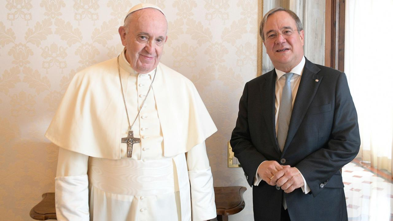 Privataudienz Papst