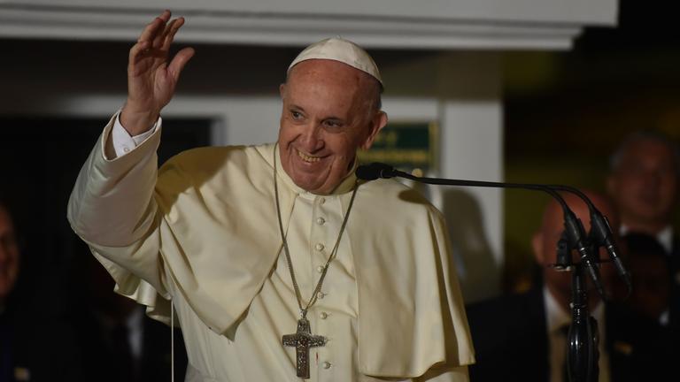 Papst in Medellín
