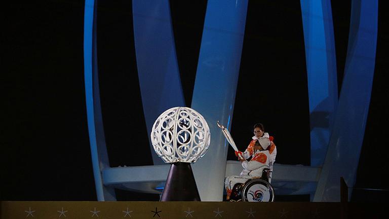 Pyeongchang Eröffnungsfeier