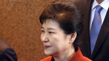 Südkoreas Präsdentin Park Geun-hye im Portrait
