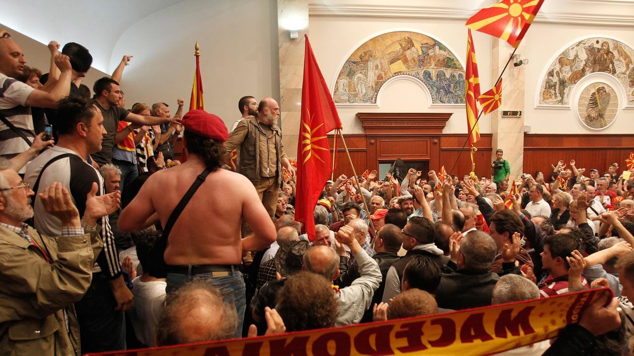 Nachrichten Mazedonien Heute