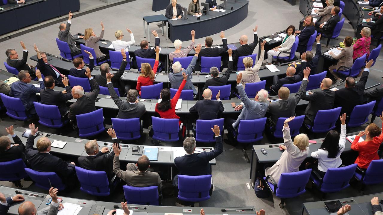 Bundestagsdebatte Live