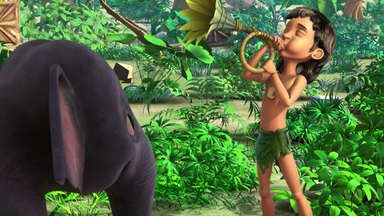 Das Dschungelbuch - Das Dschungelbuch: Peinliches Trompeten