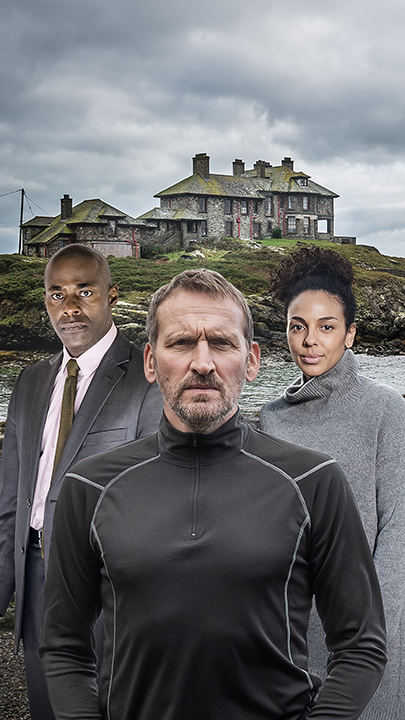 Robert (Christopher Eccleston) und Katy (Marsha Thomason).
