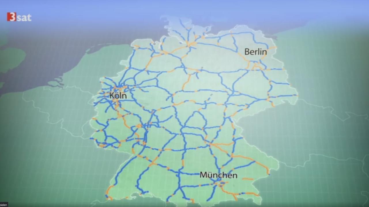 Geschwindigkeitsbegrenzung Autobahn Deutschland Karte.Planet E Tempolimit Chance Für Den Klimaschutz Zdfmediathek
