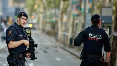 Polizei in Barcelona
