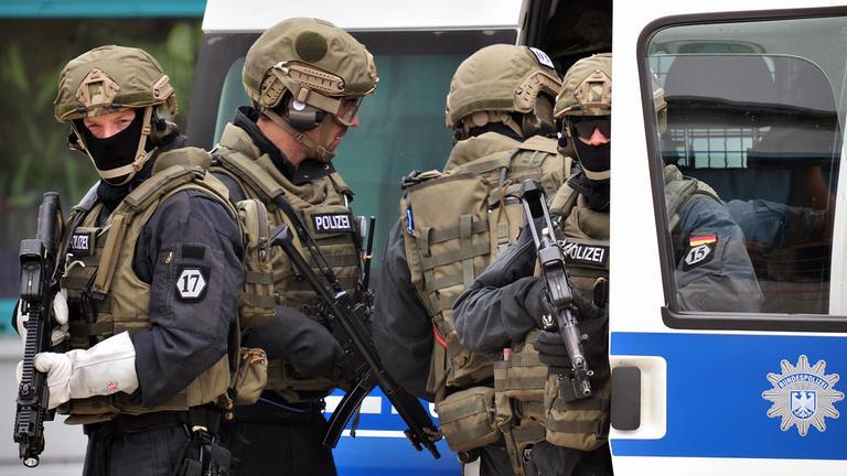 Polizisten in Dortmund