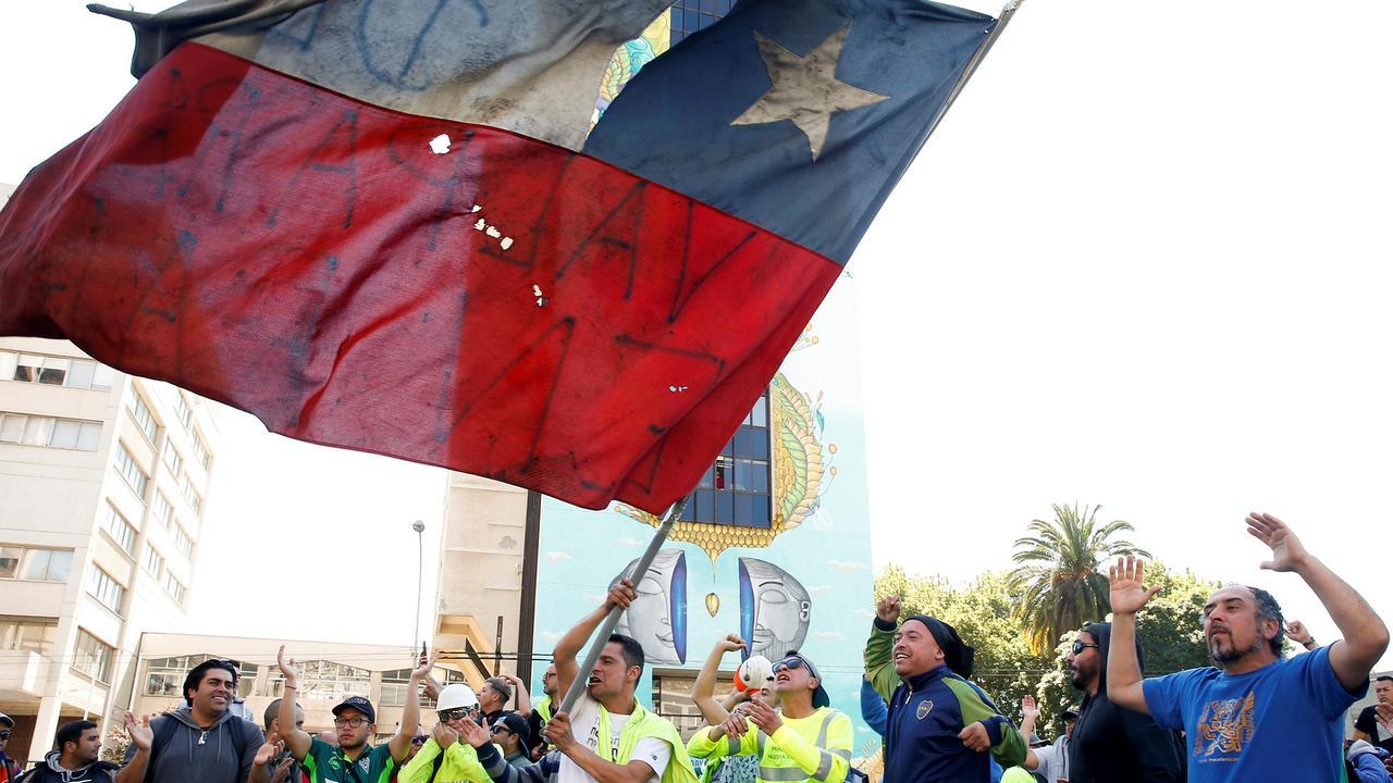 Unruhen Chile