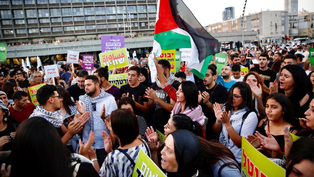 Arabische Israelis fordern Gleichberechtigung