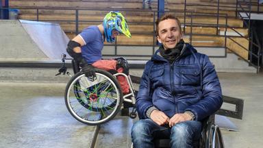 Pur+ - Das Entdeckermagazin Mit Eric Mayer - Pur+ Rollstuhlfahren In Der Halfpipe