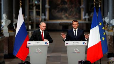 Putin bei Macron
