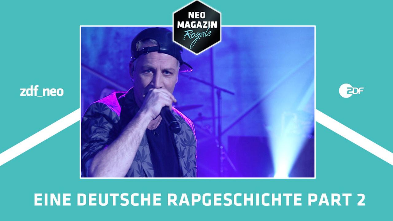Das Große Rap Medley Zum Jahresende Im Neo Magazin Royale Zdfmediathek