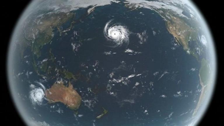 Größter Hurrikan