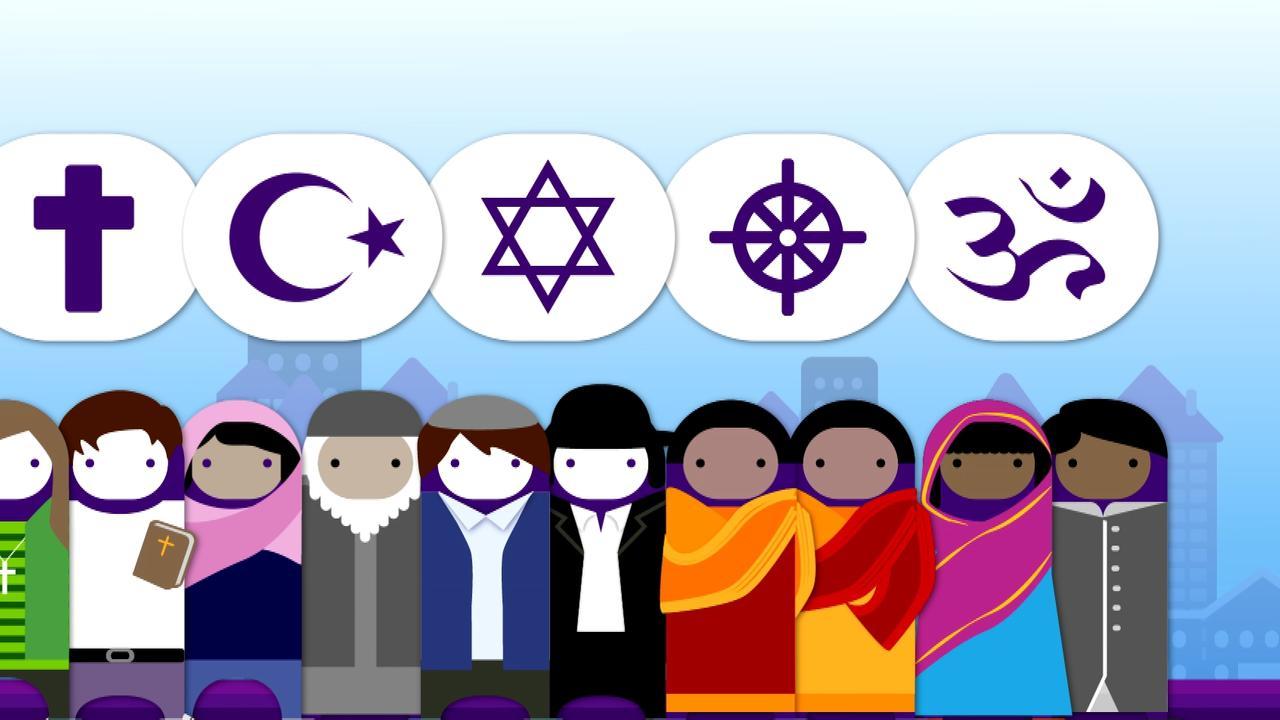 Logo Thema Religion Und Glaube Zdfmediathek