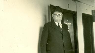 Richter Robert Michaelis 1939 auf dem Schiffsweg nach Shanghai