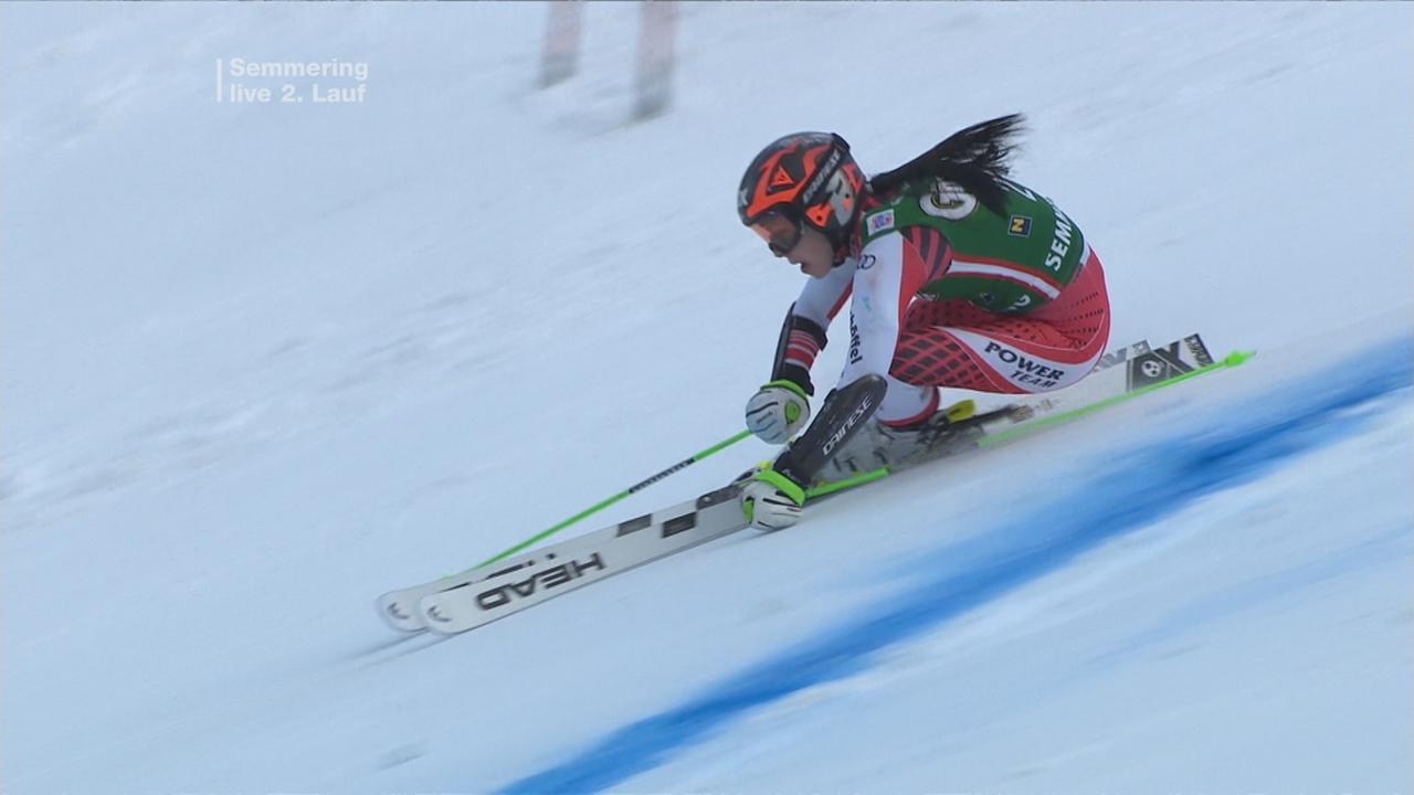 Ergebnis Damen Slalom Heute