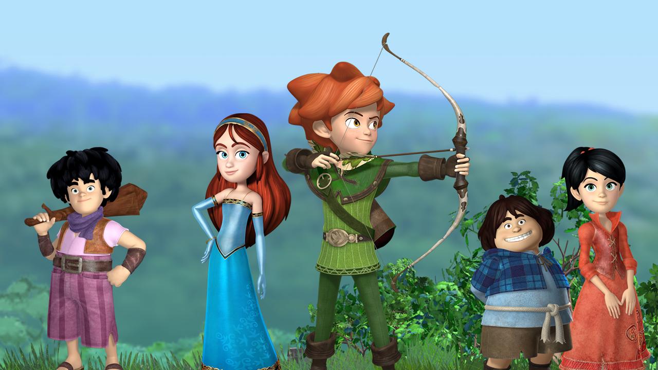 Robin Hood Schlitzohr Von Sherwood Malvorlage  Coloring and