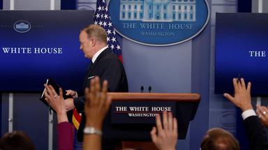 Rücktritt Sean Spicer