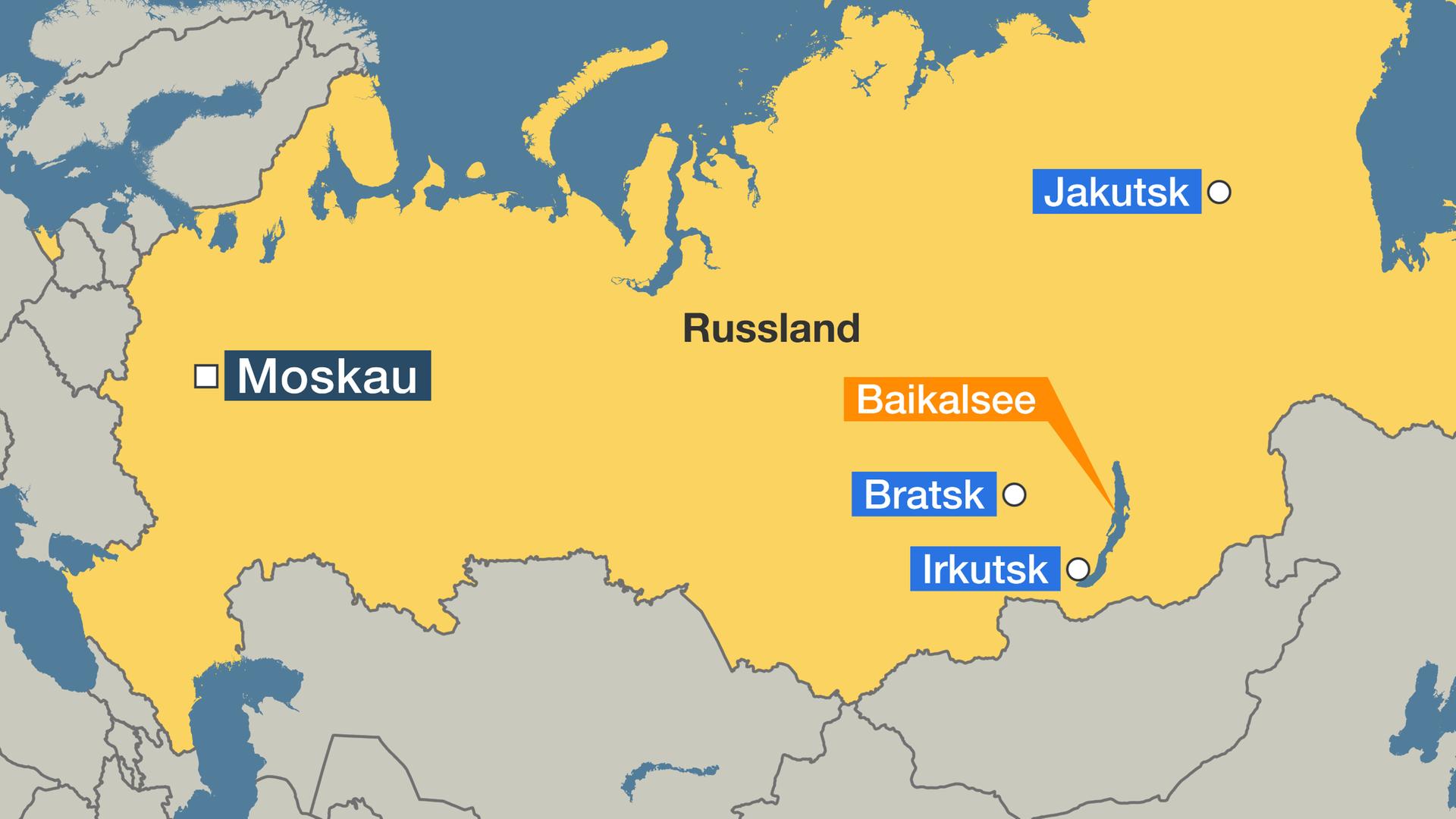 Karte Russland.Waldbrand Sibirien Nur Der Regen Kann Die Taiga Noch Retten
