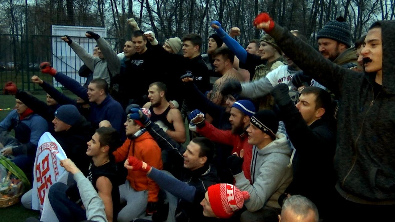 Russische Hooligans