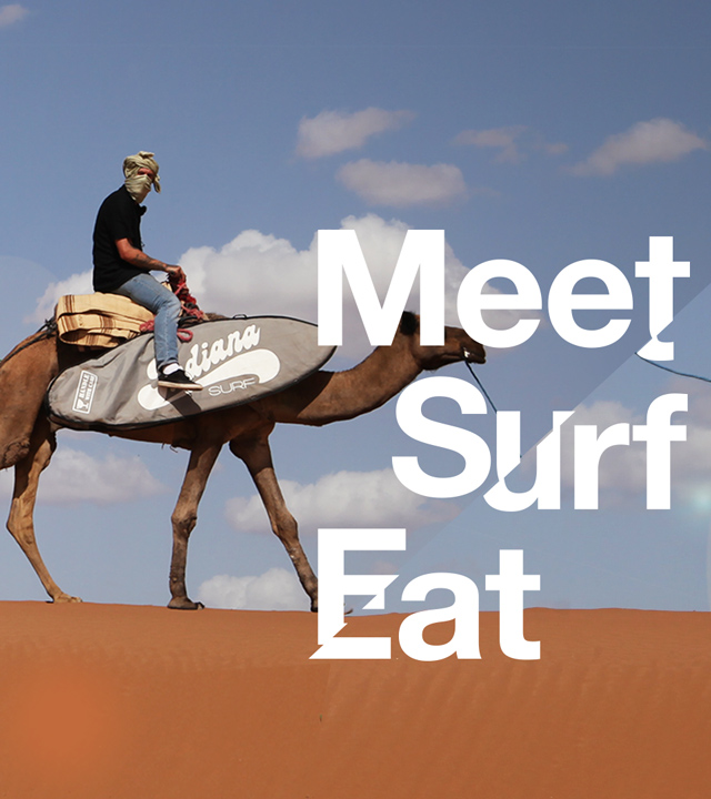 Meet, Surf, Eat