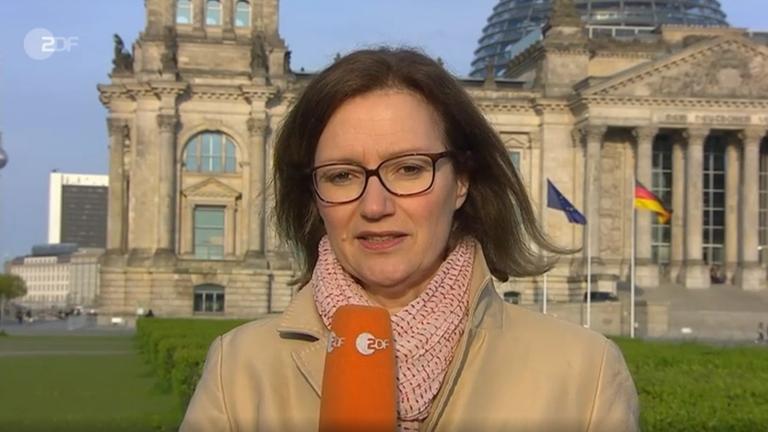 ZDF-Korrespondentin Bettina Schausten