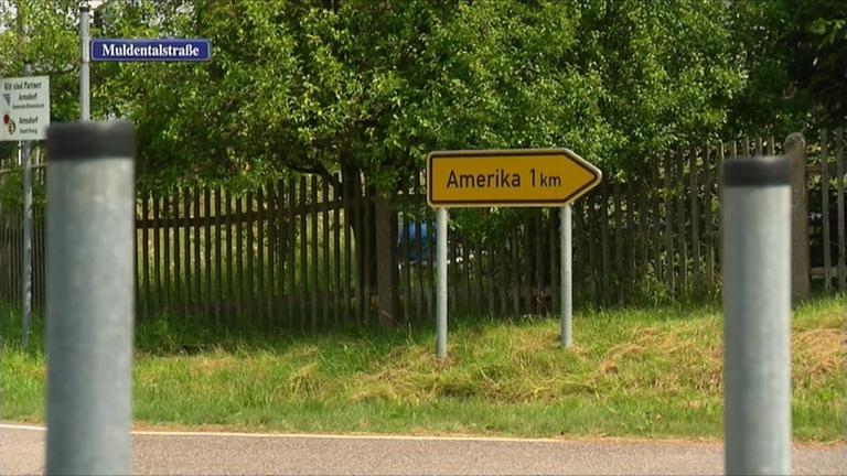 Schilderklau in Amerika