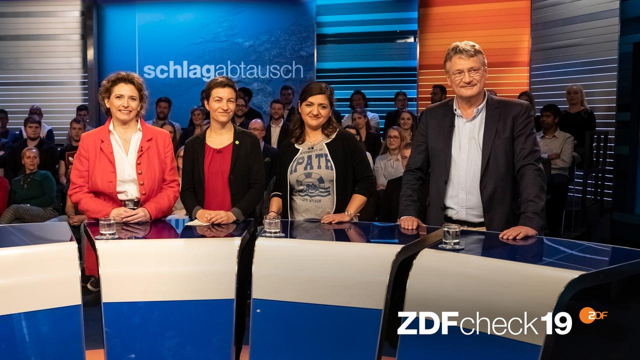 "ZDFcheck zum ""Schlagabtausch"": Jörg Meuthens Aussagen im Faktencheck"
