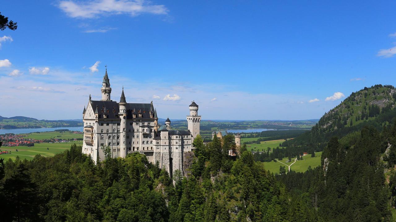 Superbauten (2/3): Schloss Neuschwanstein - ZDFmediathek