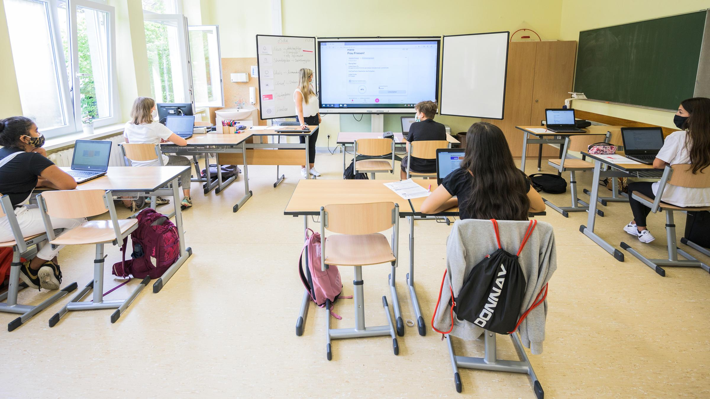 Schulen in der Corona Krise   ZDFheute