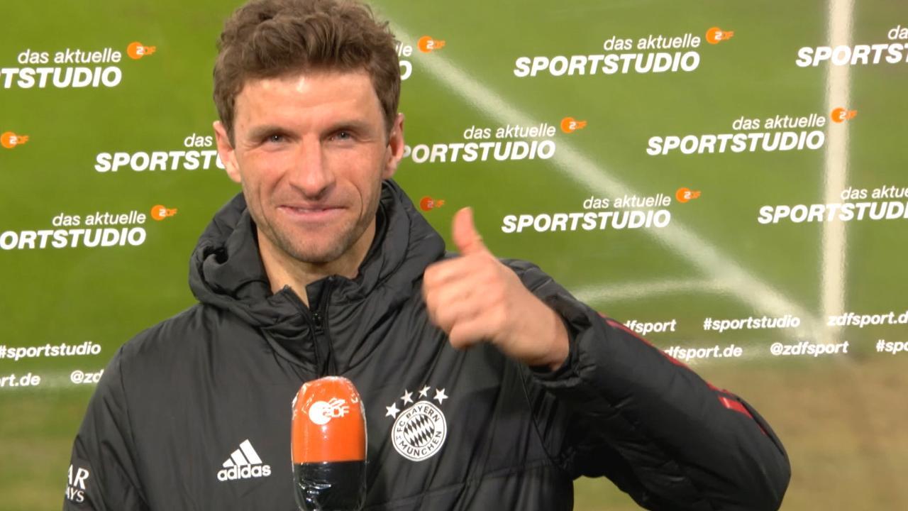 Müller: Habe Lust, um den EM-Titel zu kämpfen - ZDFsport