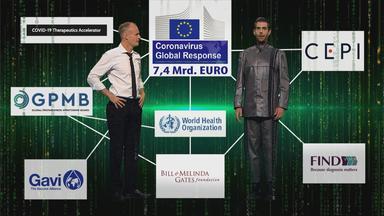 Die echte Tafelnummer über Bill Gates