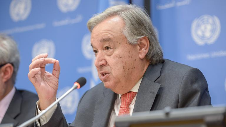 UN-Generalsekretär António Guterres spricht am 13.09.2017 in New York (USA)