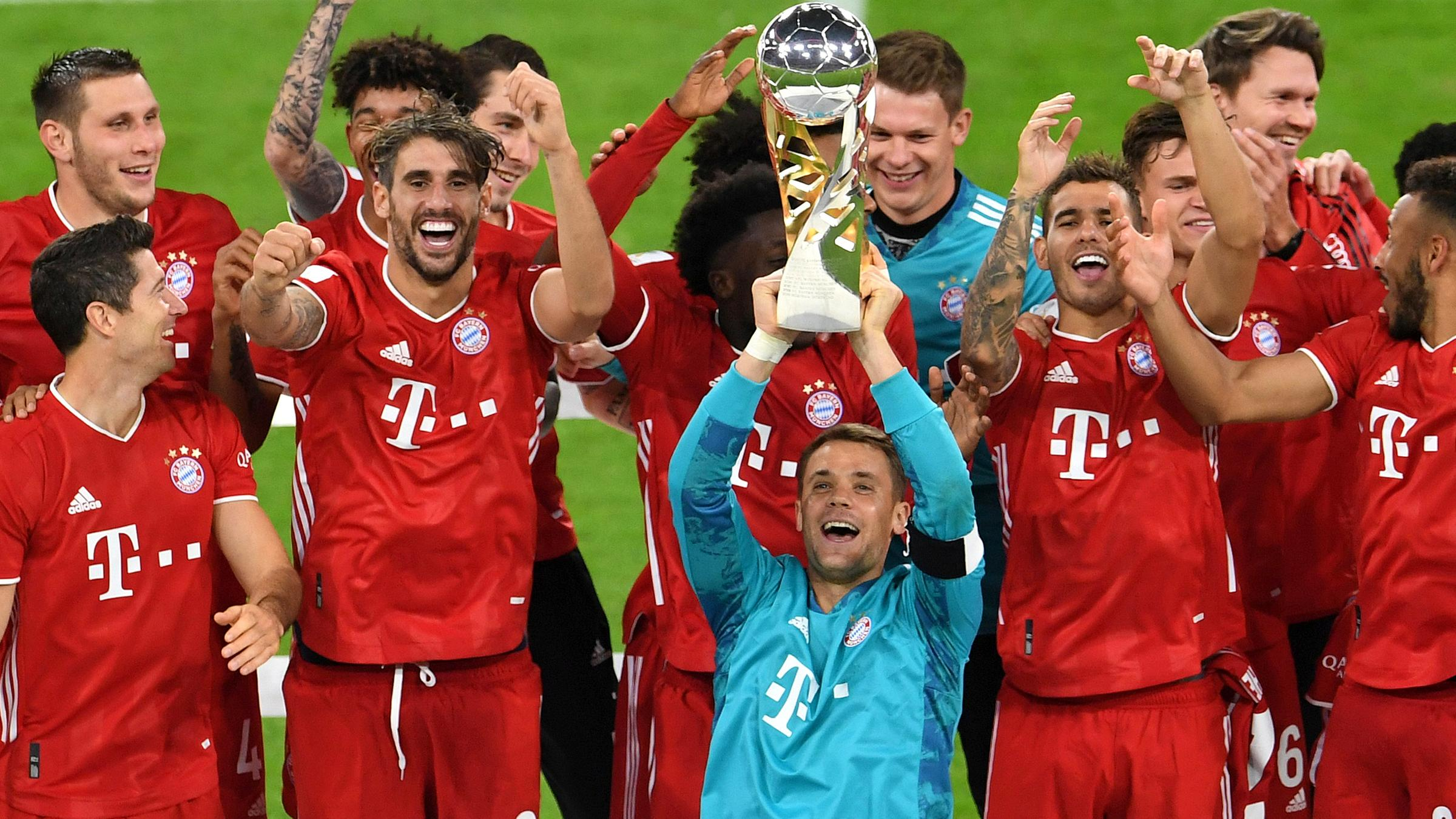 3 2 Gegen Dortmund Bayern Gewinnt Auch Deutschen Supercup Zdfheute
