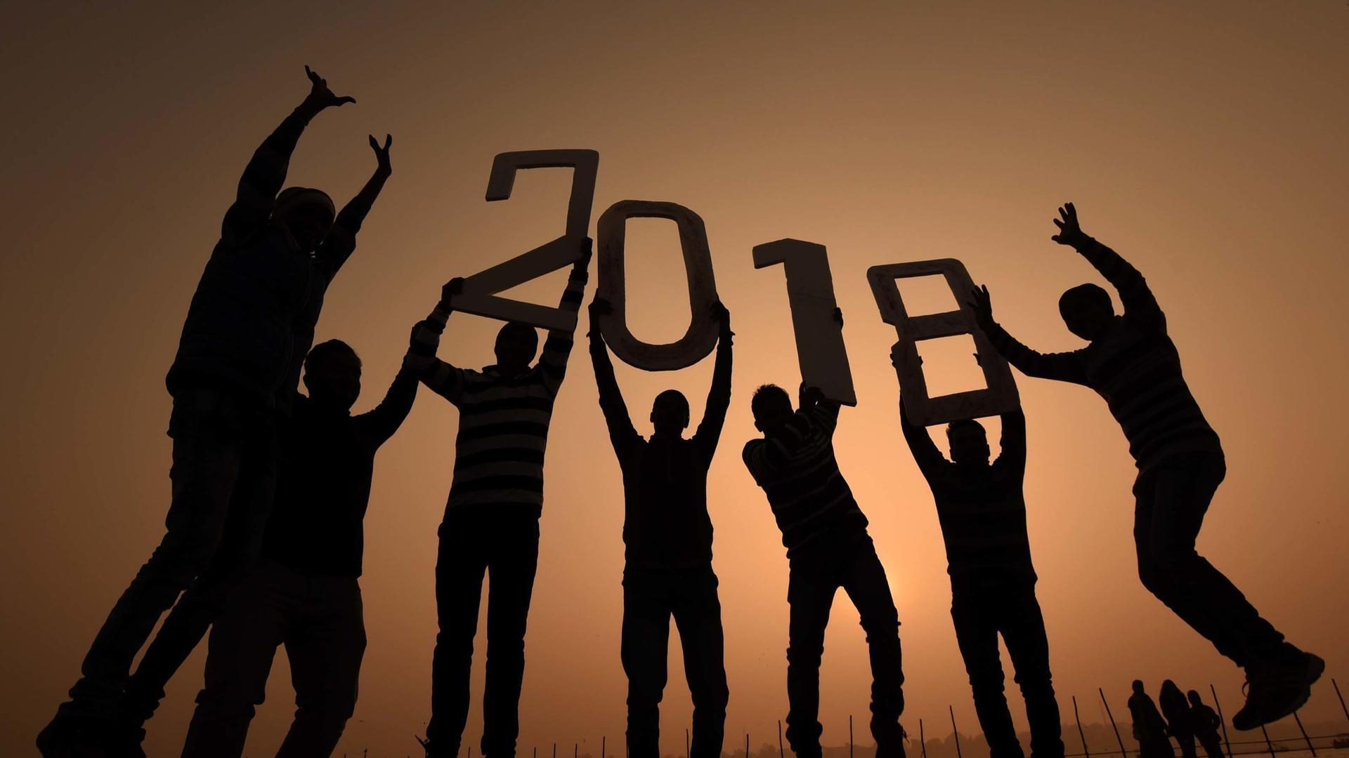 Neujahr rund um den Globus: Die Welt begrüßt 2018 - ZDFmediathek